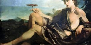 Bacchus dieu du vin
