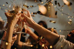 champagne jeunes fête