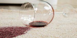 tache vin rouge tapis